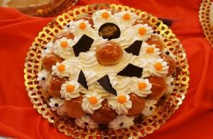 Tarta Saint Honoré, tarta foto o tarta piñata
