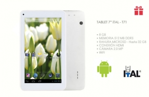 Tablet 7´´ T71 ITAL - Android