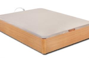 Canapé de madera gran capacidad + montaje