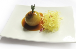 Menú gourmet en Casa Zabala