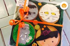 Galletas o cupcakes de Halloween