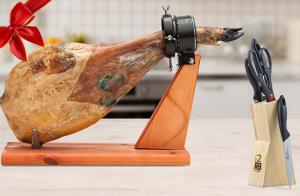 Paleta Ibérica + tacoma renberg (4 cuchillos y tijeras)