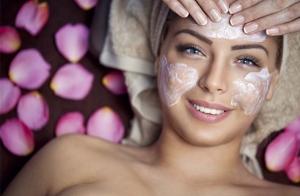 Limpieza facial con velo de colágeno