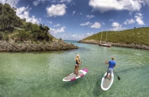 Rutas guiadas en Paddle Surf o EspeleoSUP
